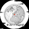 Outline Map of Momberg, rectangular outline