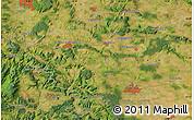 "Satellite Map of the area around 51°19'36""N,10°16'30""E"