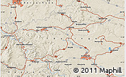 """Shaded Relief Map of the area around 51°19'36""""N,10°16'30""""E"""