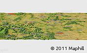 "Satellite Panoramic Map of the area around 51°19'36""N,10°16'30""E"