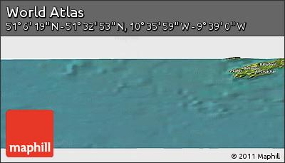 "Satellite Panoramic Map of the Area around 51°19'36""N,10°7'30""W"