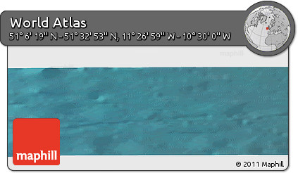 "Satellite Panoramic Map of the Area around 51°19'36""N,10°58'29""W"