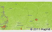 Physical 3D Map of Görlitz