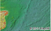 "Satellite Map of the area around 51° 19' 36"" N, 1° 46' 29"" E"
