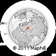 Outline Map of Nizhnyaya Kamenka, rectangular outline