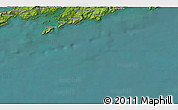 """Satellite 3D Map of the area around 51°19'36""""N,9°16'30""""W"""