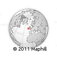 """Outline Map of the Area around 51° 43' 18"""" N, 11° 49' 29"""" W, rectangular outline"""