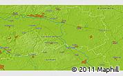 Physical 3D Map of Herzberg