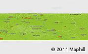 Physical Panoramic Map of Herzberg