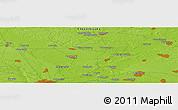 Physical Panoramic Map of Klementinovka