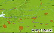 Physical Map of 's-Hertogenbosch