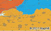 Political Map of 's-Hertogenbosch