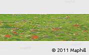 Satellite Panoramic Map of 's-Hertogenbosch