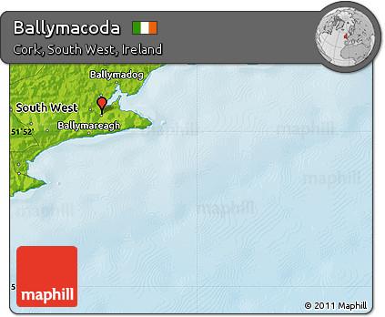 Physical Map of Ballymacoda
