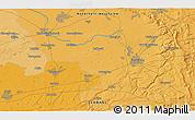Political 3D Map of Gütersloh