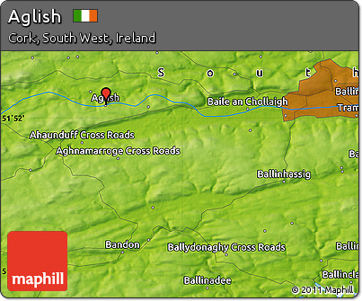 Physical Map of Aglish