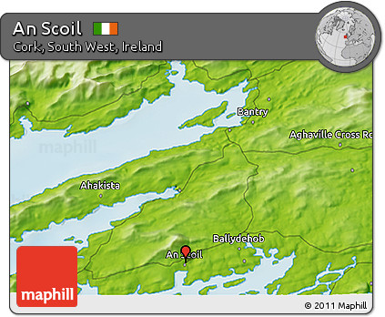 Physical 3D Map of An Scoil