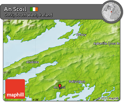 Physical Map of An Scoil