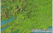 Satellite Map of Bantry