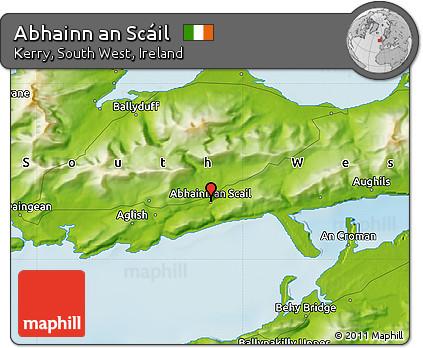 Physical Map of Abhainn An Scáil