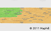 Political Panoramic Map of Mariental