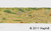 Satellite Panoramic Map of Mariental