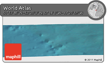 "Satellite Panoramic Map of the Area around 52°6'54""N,11°49'29""W"