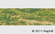 "Satellite Panoramic Map of the area around 52°6'54""N,12°49'29""E"