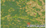 Satellite Map of Zielona Góra