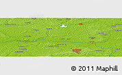 Physical Panoramic Map of Zielona Góra