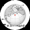 Outline Map of Semisopochnoi Island, rectangular outline
