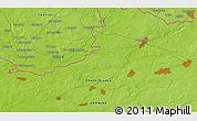 Physical 3D Map of Komarov