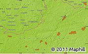 Physical Map of Komarov
