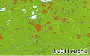 Physical Map of Utrecht