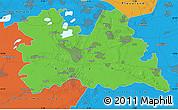 Political Map of Utrecht