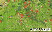 Satellite Map of Utrecht