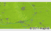Physical 3D Map of Malburgen West