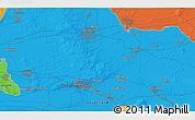 Political 3D Map of Arnhem