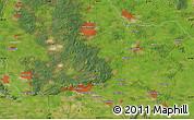 Satellite Map of Arnhem