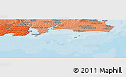 """Political Panoramic Map of the area around 52°6'54""""N,6°43'29""""W"""