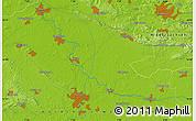 Physical Map of Rheine