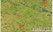 Satellite Map of Lengerich