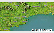 """Satellite 3D Map of the area around 52°6'54""""N,7°34'30""""W"""