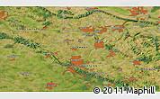 Satellite 3D Map of Bielefeld