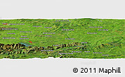 Satellite Panoramic Map of Canrour
