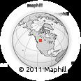 Outline Map of 5020 49 St, rectangular outline
