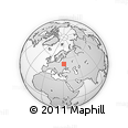 """Outline Map of the Area around 52° 30' 23"""" N, 30° 40' 29"""" E, rectangular outline"""