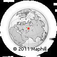 Outline Map of Arkaim, rectangular outline