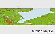 Physical Panoramic Map of Lelystad