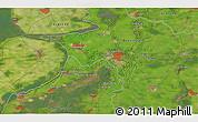 Satellite 3D Map of Harderwijk